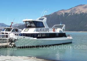 Minitrekking, traversée du bras sud du lac Argentino