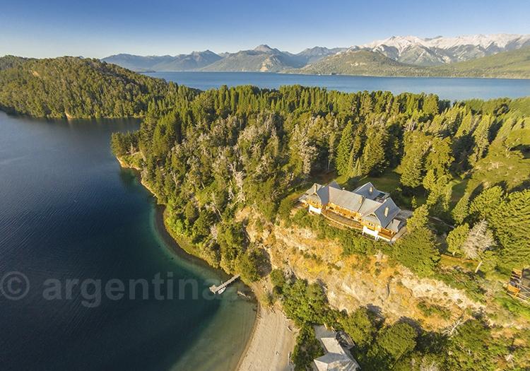 Hôtel Isla Victoria, lac Nahuel Huapi