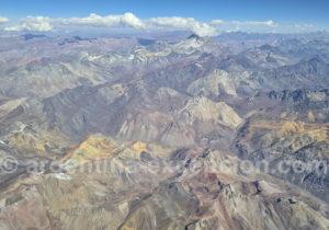 Cerro Aconcagua en été