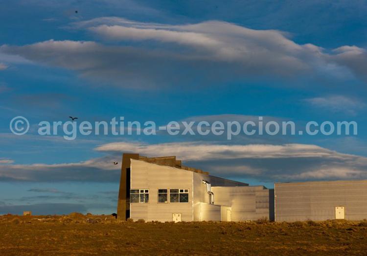 Glaciarium, musée des glacier, El Calafate, Argentine avec l