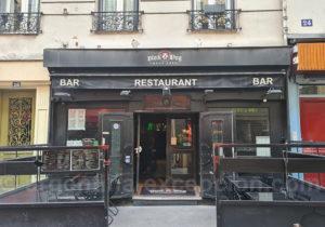 Restaurant Black Dog Paris 75005