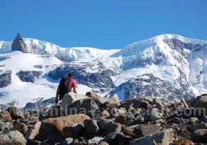 Approche des glaciers Dicksons Cubo et Grande