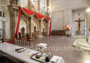 Intérieur de la basilique d'Itatí