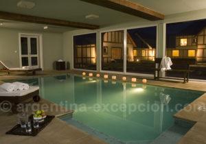 Eolo lodge piscine