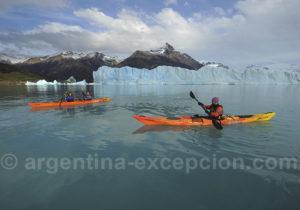 Le glacier Perito Moreno en kayak de mer