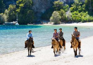 Balade à cheval à hôtel Isla Victoria