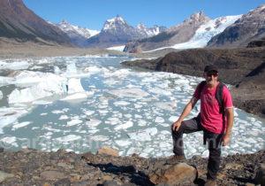 Panora,a sur la lagune Frias et le glacier Grande