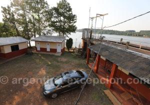 Douane argentine pour aller de Corpus à Bella Vista au Paraguay