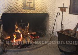 Grillade d'agneau estancia Bahia Bustamante