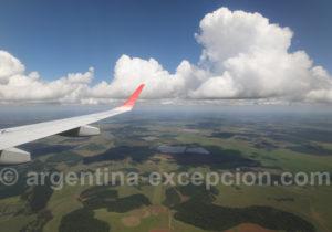 Survol de la province de Corrientes