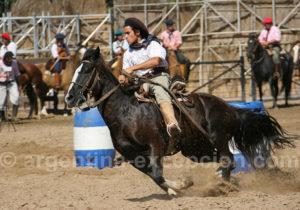 Courses de chevaux criollos, Argentine