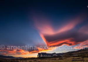 Eolo lodge ciel patagon
