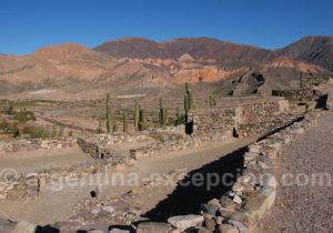 Visite du site archéologique de Tilcara
