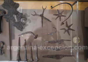 Objets en fer forgé, musée de San Ignacio Mini