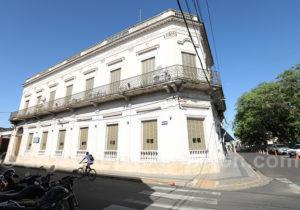 Rue de la ville de Corrientes