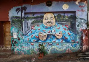 Expression murale à Puerto Iguazu