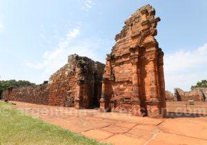 Aile gauche du portail de San Ignacio Miní
