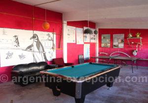 Salle de jeux estancia Bahia Bustamante