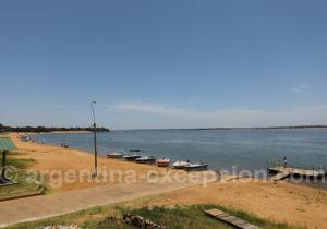 Rio Paraná, Paso de la Patria, Argentine