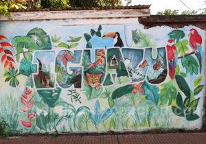 Stree art à Puerto Iguazu