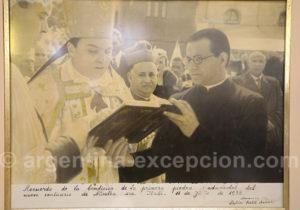 Bénédiction de la première pierre du sanctuaire de Itati 1938