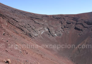 Cratère du volcan Morado
