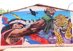 Art urbain à Puerto Iguazu