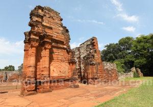 Portail de la mission de San Ignacio restauré par le World Monuments Fund