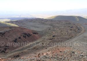 Vue depuis le sommet du volcan Morado