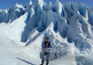 Randonnée sur le glacier Perito Moreno