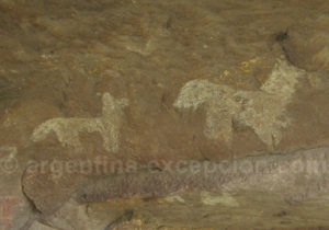 Petroglyphes lagune du Brealito