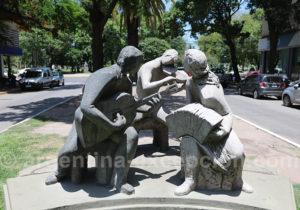 Sculpture dans la rue de Resistencia, Chaco