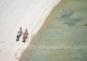 Balade sur la plage, île Victoria