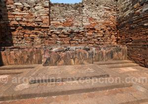 Autel de l'église de San Ignacio Mini