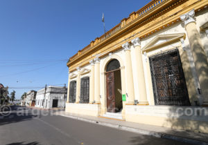 Promenade dans la ville de Corrientes