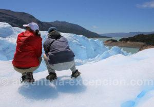 Lac Argentino depuis le Perito Moreno