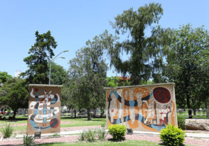Art urbain, ville de Resistencia, Argentine