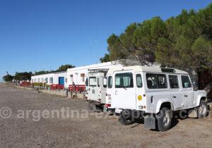 Flotte de voiture estancia Bahia Bustamante