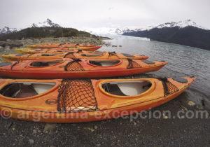Kayak de mer lac Argentino
