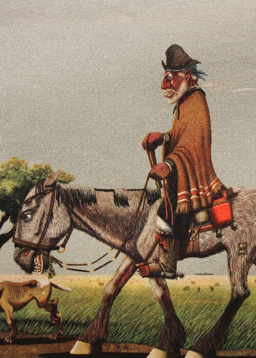 Le gaucho Martín Fierro