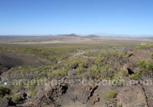 Paysage zone volcan Malacara