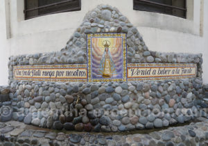 Fontaine d'eau bénite, Itatí