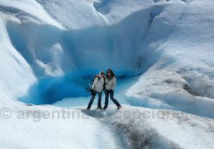 Paysage sur le glacier Perito Moreno