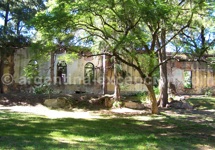 Ancienne prison de l'île Martin Garcia, rio de La Plata