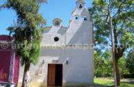 Chapelle de l'île Martin Garcia, delta de Paraná