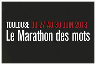 Marathon des mots 2013