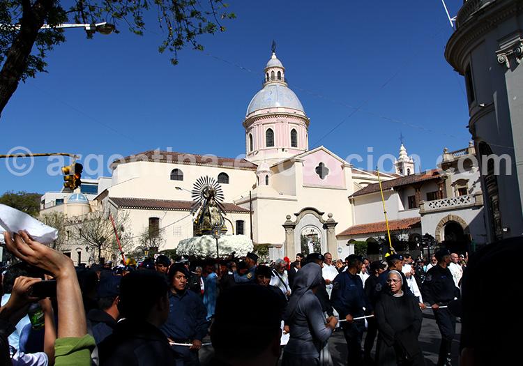 La cathédrale de Salta
