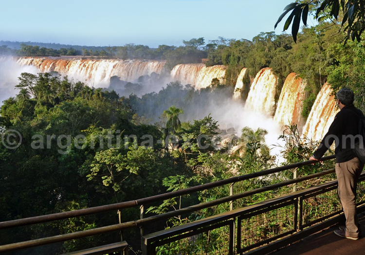 Climat dans le parc d'Iguaçu