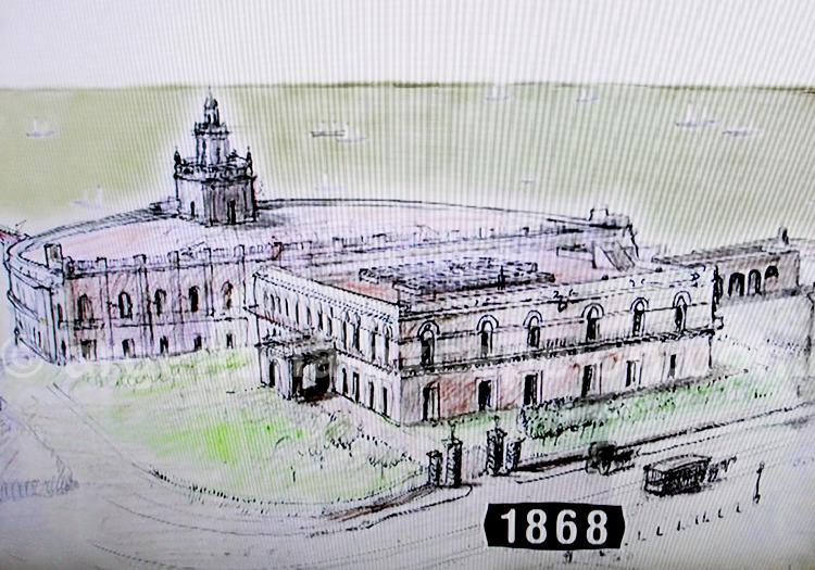 Palais du Gouverneur 1868