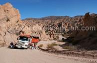 Commet se rendre dans la Quebrada de las Flechas